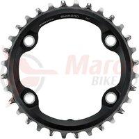 Foaie angrenaj 30t, black, bolt circle 4x96mm for FC-M 7000 1x11V