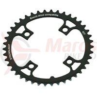 Placa pedalier eBike Stronglight BoschGen1 36T negru, bolt circle 104mm