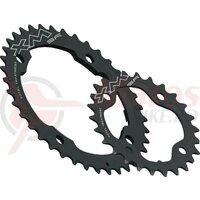 chain ring Miche MTB XM TT SR BCD120/80 outside 40 teeth, black, 10-gear