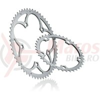 Chain ring Miche Supertype BCD 130SH outside 54 d. silver 9/10 v. Shimano