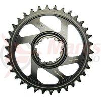 Placa pedalier Sram X-Sync 12V, 32T, gold, Alu, Direct Mount, offset 6mm