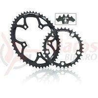 chainwheel Miche Super 11 BCD 110 XCA small 39s, black, 11fold, Campa