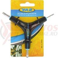 Cheie Torx T10/T25/T30., Var Tools