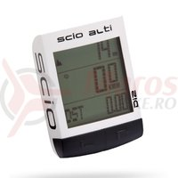 Ciclocomputer PRO scio alti Ant+ Di2 wireless 23 functions white