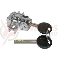 Cilindru Trelock pentru biciclete electrice RHM Gen2 RS450 montare pe cadru cheie lunga