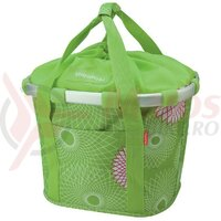 Geanta bike basket lime green, 35x28x26 cm KLICKfix