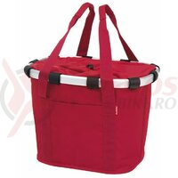 Geanta Bikebasket red, 35x28x26 cmm