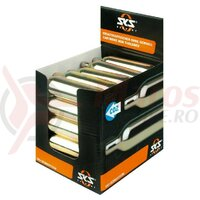 CO2-cartridge display SKS 25 cartridges loose, 16g, no thread