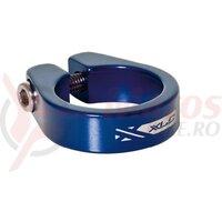 Colier pt tija de sa XLC PC-B05 blue 31.6 mm Alu