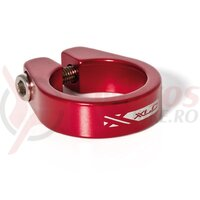 Colier pt tija de sa XLC PC-B05 red 34.9mm Alu