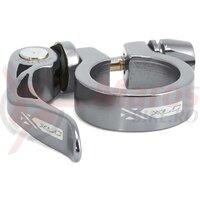 Colier pt tija de sa XLC PC-L04 34.9mm titanium cloured QR