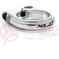Colier pt tija de sa XLC Road PC-B01 Alu 31.8mm Silver