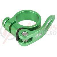 Colier sa QR M-Wave 31.8mm verde