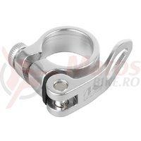 Colier sa QR M-wave Silver 31.8 mm