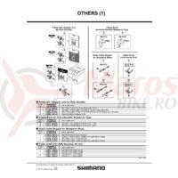 Colier Shimano SM-AD15 pentru schimbator fata de sosea cu prindere directa 34.9mm Shimano