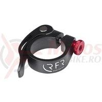 Colier tija sa RFR QR negru/rosu 34.9 mm