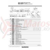 Colivie cu bile Shimano SG-3CC41 J (7/32