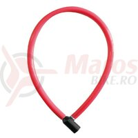 Lacat cifru Trelock 60cm, 6mm KS 106/60/6, rosu