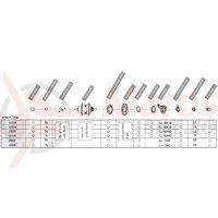 Componente Shimano Nexus SG-7C25/7C15 fara pinion & arm vrac