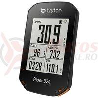 Computer Bryton Rider 320T GPS computer set (+HRM si CAD senzor)