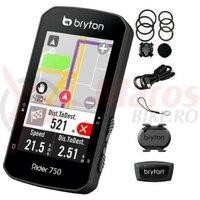 Computer Bryton Rider 750T GPS set