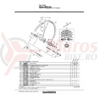 Con Shimano WH-RS30-R stanga