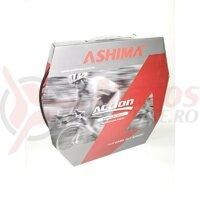 Conducta frana hidraulica Ashima AH-MB-OC5-WS-BK, cu impletitura Kevlar, OD=5,2mm, ID=2,5mm, neagra