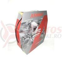 Conducta frana hidraulica Ashima AH-MB-OC52-WS-BK, cu impletitura Kevlar, OD=5mm, ID=2,1mm, neagra