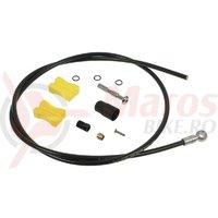 Conducta hidraulica frana disc Shimano SM-BH90-SB 2000mm negru cu conector TL-BH61
