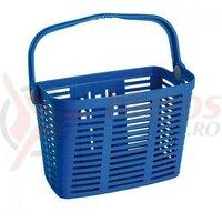 Cos fata bicicleta de plastic Bellelli, detasabil, albastru