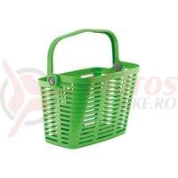Cos fata bicicleta de plastic Bellelli detasabil verde