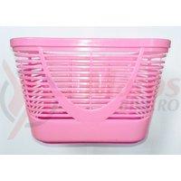 Cos fata plastic copii roz