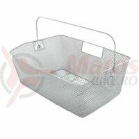 Cos Metal Spate M-WAVE 41x30x18/15 cm Silver
