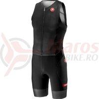 Costum Triatlon Fara Maneca Castelli Free Sanremo SS Suit negru