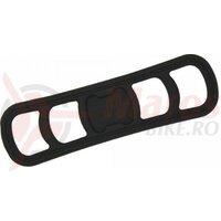 Curea cauciuc Infini RC08, pentru ghidon, 19-48mm / fixare suport HB08, FB05, RB05, RB08