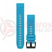 Curea Garmin Quickfit 22 silicon albastru