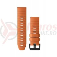 Curea Garmin Quickfit 26 silicon orange striat