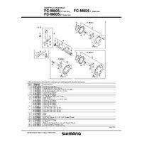 Butuc pedalier Shimano Saint FC-M805