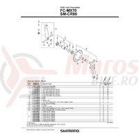 Cuveta Shimano FC-MX70