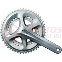 Pedalier Shimano 105 39/53 T. 170 mm FC-5800 silver, HollowtechII, fixed axle