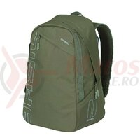 Rucsac Basil Flex forest green, hook-on system, 33x17x52cm