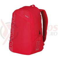 Rucsac Basil Flex signal red, hook-on system, 33x17x52cm