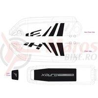 Decor baterie Haibike Xduro 2014 negru/gri