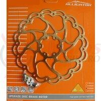 Disc frana Alligator  Aries , R22TI, 180, suprafata titan-nitrit