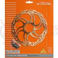 Disc frana Alligator Motion, R24TI, 160, suprafata titan-nitrit