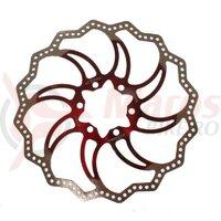 Disc frana Alligator - Starlite, R18RD, 160, rosu