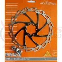 Disc frana Alligator Wind Cutter, R12BK, 180, negru