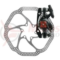 Frana pe disc Avid BB7 MTB S mecanica black disc 180mm FW/RW