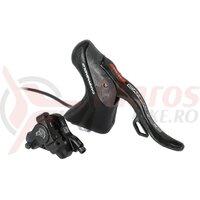 Disc brake shift lev.H11 EPS 11s EP18-HPDRR4EPS,re,back,140mm,w/o scrs.