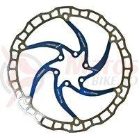 Disc frana Ashima ARO-08 203mm albastru
